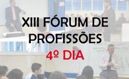 XIII F�rum de Profiss�es - 2015